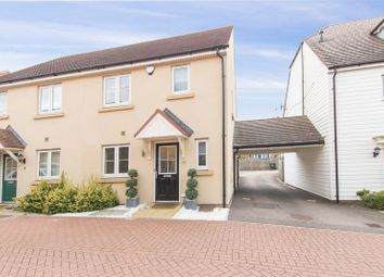 Thumbnail 3 bedroom semi-detached house for sale in Leaden Close, Loughton