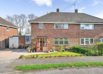 Thumbnail 3 bed semi-detached house for sale in Whiteley Crescent, Bletchley, Milton Keynes