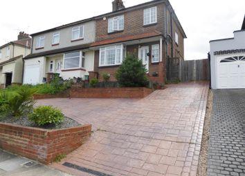 Thumbnail 3 bed semi-detached house for sale in Beverley Road, Barnehurst, Kent