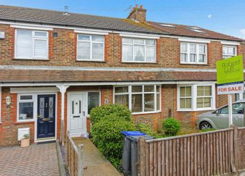 Thumbnail 3 bed terraced house for sale in Bruce Avenue, Goring-By-Sea, Worthing
