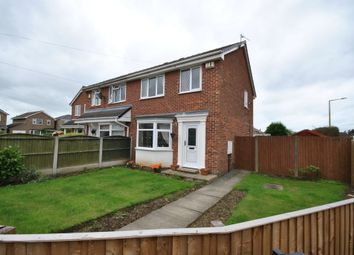 Thumbnail 3 bed semi-detached house for sale in Kepple Close, New Rossington, Doncaster