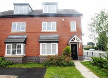 Thumbnail 4 bed terraced house for sale in Mcfarlane Close, Upton, Chester, Cheshire