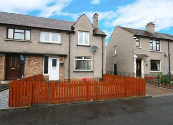 Thumbnail 3 bed end terrace house for sale in Tedder Street, Grangemouth