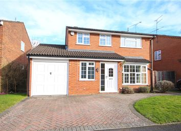 Thumbnail 4 bed detached house for sale in Woodleigh, Fleet
