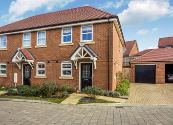 Thumbnail 2 bed end terrace house for sale in Tudgey Gardens, Fleet