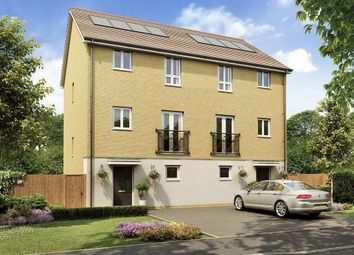 "Thumbnail 4 bedroom town house for sale in ""Proton Special "" at Wood View, Grays"