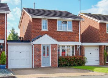 Thumbnail 3 bed link-detached house for sale in Hollyberry Close, Winyates Green, Redditch, Worcestershire