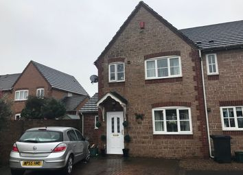 Thumbnail 4 bed end terrace house for sale in Greengage Close, Weston-Super-Mare