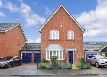 5 bed link-detached house for sale in Galleon Way, Upnor, Rochester, Kent ME2