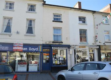 Thumbnail 1 bed flat to rent in The Flat, 17, Broad Street, Newtown, Powys
