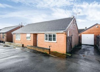 Thumbnail 3 bedroom bungalow for sale in The Paddock, Shirebrook, Mansfield, Derbyshire