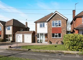 Thumbnail 4 bed detached house for sale in Aragon Avenue, Ewell, Epsom