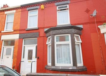 Thumbnail 3 bedroom terraced house for sale in Pagefield Road, Wavertree, Liverpool
