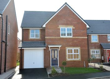 "Thumbnail 4 bed detached house for sale in ""The Roseberry"" at Cottonwood Close, Bamber Bridge, Preston"