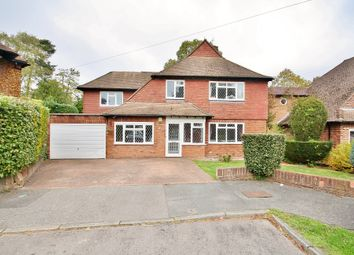 Thumbnail 4 bed detached house for sale in Nicholas Gardens, Pyrford, Woking