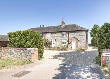 3 bed end terrace house for sale in Brooks Barns, Brooks Lane, Bosham PO18