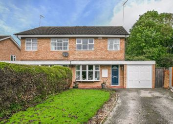Thumbnail 3 bed semi-detached house for sale in Ledbury Close, Redditch
