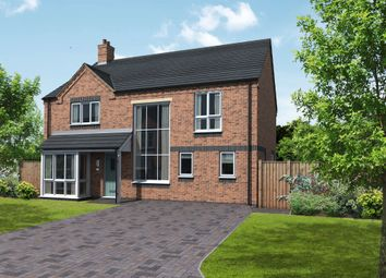 Thumbnail 4 bed detached house for sale in Coton Road, Rosliston, Swadlincote