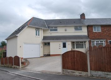 Thumbnail 4 bed semi-detached house for sale in Dorterry Crescent, Ilkeston