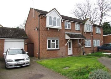 Thumbnail 3 bed semi-detached house to rent in Kingsmead, Cheshunt
