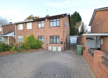 Thumbnail 3 bed semi-detached house to rent in Delamere Road, Willenhall