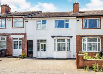 Thumbnail 3 bed terraced house for sale in Percy Road, Leicester