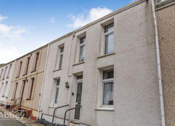 Thumbnail 3 bed terraced house for sale in Western Terrace, Blaengwynfi, Port Talbot