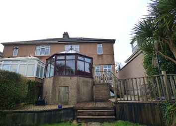 Thumbnail 3 bed semi-detached house for sale in Dean Hill, Plymstock, Plymouth