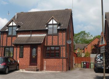 Thumbnail 2 bed semi-detached house to rent in Storth Lane, Broadmeadows, Alfreton