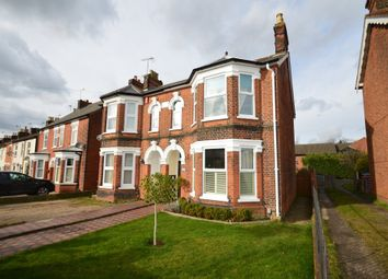 Thumbnail 3 bed semi-detached house for sale in Woodbridge Road, Ipswich
