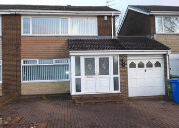 Thumbnail 3 bed semi-detached house for sale in Cobden Road, Cramlington
