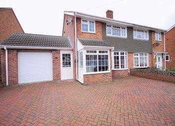 Thumbnail 3 bed semi-detached house for sale in Castle View Road, Fareham