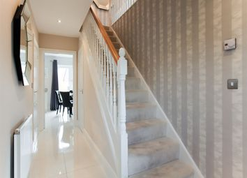 "Thumbnail 5 bed detached house for sale in ""The Marylebone"" at Northborough Way, Boulton Moor, Derby"