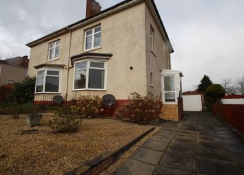 Thumbnail 2 bed semi-detached house to rent in Mansel Street, Springburn, Glasgow