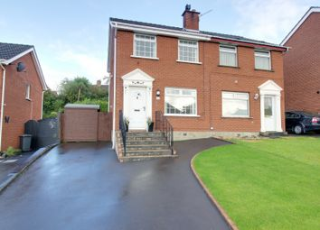 Thumbnail 3 bed semi-detached house for sale in 34 Manor Park, Bangor