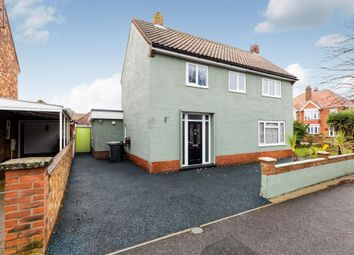 Thumbnail 4 bed detached house for sale in Lumley Crescent, Skegness
