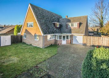 Thumbnail 4 bed detached house for sale in Church Close, Exning, Newmarket