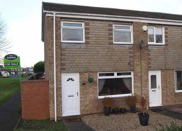Thumbnail 3 bed end terrace house for sale in Filton Close, Cramlington