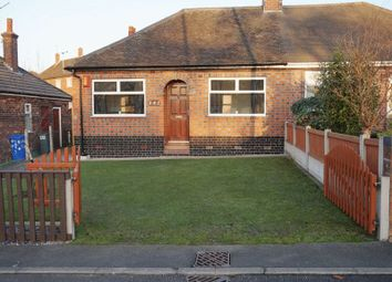 Thumbnail 2 bed semi-detached bungalow for sale in Dividy Road, Bucknall, Stoke-On-Trent, Staffordshire