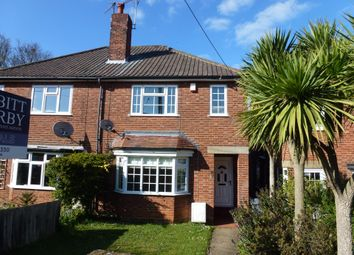 Thumbnail 3 bed semi-detached house for sale in Deben Road, Woodbridge