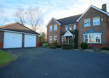Thumbnail 4 bed detached house for sale in Lakeside Close, Baldwins Gate, Newcastle-Under-Lyme