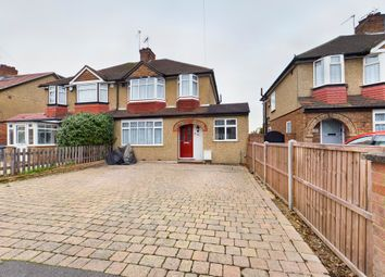 Thumbnail 4 bed semi-detached house for sale in Jubilee Drive, Ruislip