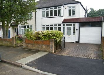 Thumbnail 3 bedroom semi-detached house to rent in Vinson Close, Orpington