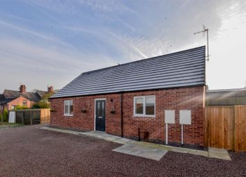 Thumbnail 2 bed detached bungalow for sale in Cemetery Road, Sileby, Loughborough