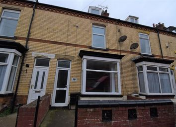 Thumbnail 4 bed terraced house for sale in Olinda Road, Bridlington