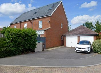 Thumbnail 3 bed end terrace house for sale in Crocus Drive, Sittingbourne, Kent