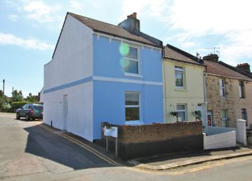 Thumbnail 2 bed end terrace house for sale in Windsor Road, St. Leonards-On-Sea