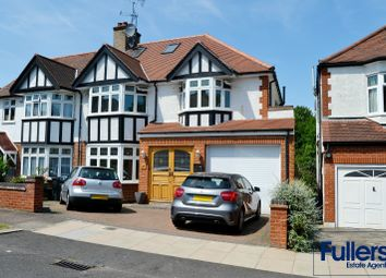 Thumbnail 5 bed semi-detached house for sale in Hoodcote Gardens, Winchmore Hill