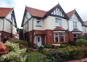 Thumbnail 4 bed maisonette for sale in St. Marys Road, Llandudno, Conwy