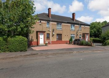 Thumbnail 3 bed flat for sale in Ladykirk Drive, Glasgow, Lanarkshire